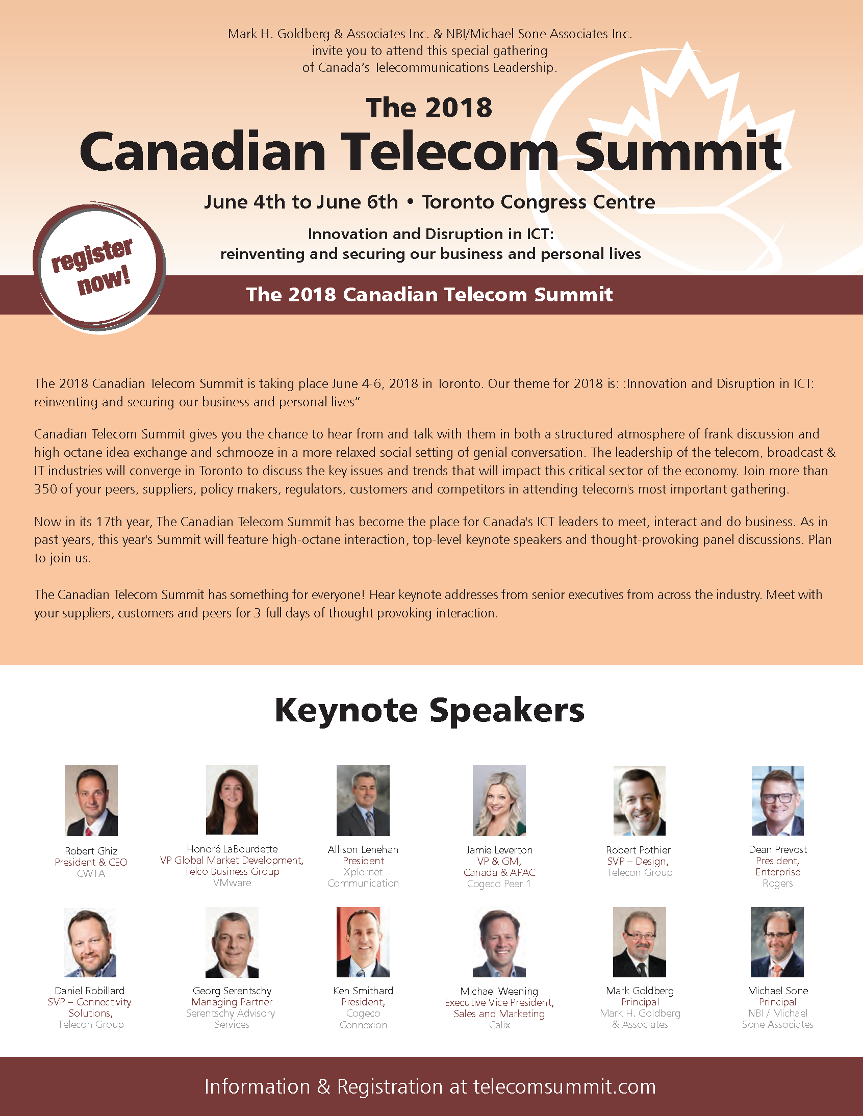 The Canadian Telecom Summit